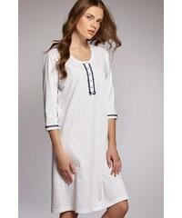 Noční košilka Cana 660, bílá