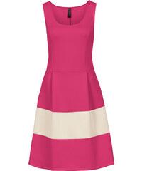 BODYFLIRT boutique Kleid in Scubaoptik in pink von bonprix