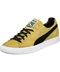 Puma Clyde chaussures bright gold/black