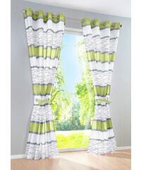 bpc living Panneau Maira (1 pce.), œillets vert maison - bonprix
