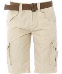 Schott Shorts - naturweiß