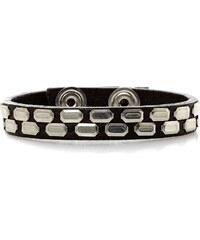 Diesel Arne - Bracelet en cuir - noir