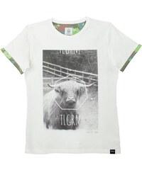 Blue Telegram T-shirt - blanc