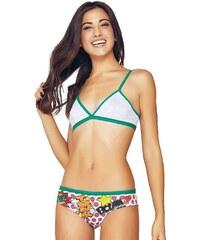 Jadea Dívčí podprsenka a kalhotky - set 4556v3 zelená S