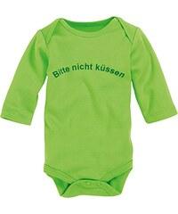Schnizler Unisex Baby Body Langarm, Bitte Nicht Küssen, Oeko-tex Standard 100