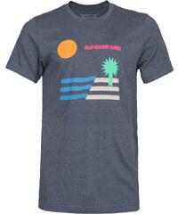 Superbrand Tropical T-Shirts T-Shirt navy