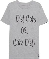 ADDMYBERRY Diet Coke Tee Heather Grey