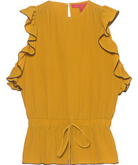 HILFIGER COLLECTION Boca Chica Top Yellow
