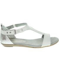 Tamaris dámské sandály 1-28170-36 bílá-stříbrná