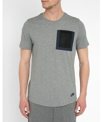 NIKE Graues T-Shirt Hypermesh