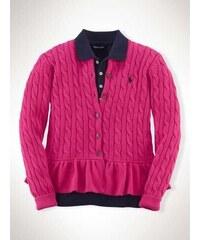 Ralph Lauren dívčí svetr Peplum