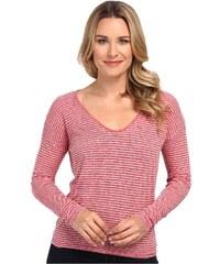 Lacoste LACOSTE dámské tričko dlouhý rukáv Long Chine Stripe