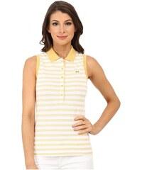 Lacoste LACOSTE dámské polo tričko Sleeveles Slim Fit Stripe