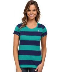 U.S. Polo Assn. U.S. Polo Assn dámské tričko Wide Stripe