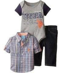 U.S. Polo Assn. oblečení pro chlapce 3 Piece Set Denim