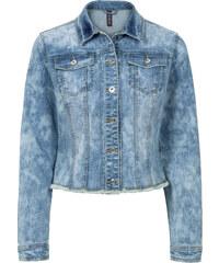 RAINBOW Jeansjacke langarm in blau für Damen von bonprix