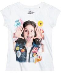 Disney Soy Luna T-Shirt weiß in Größe 128 für Mädchen aus 100% Baumwolle