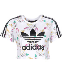 adidas Surf Crop W T-Shirt white/multicolor