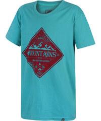 Hannah Chlapecké tričko Duckie JR - tyrkysové
