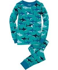Hatley Chlapecké pyžamo se žraloky - modré
