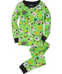 Hatley Chlapecké pyžamo s astronauty - zelené