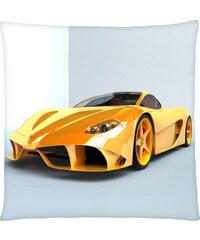 Polštář auta 09 žlutá Mybesthome 40x40 cm Varianta: Povlak na polštář, 40x40 cm