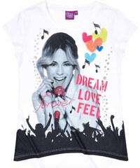Disney Violetta T-Shirt weiß in Größe 128 für Mädchen aus Vorderseite: 100% polyester Ärmel: 100% Baumwolle