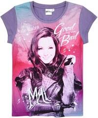 Disney Descendants T-Shirt violett in Größe 140 für Mädchen aus Vorderseite: 100% polyester Ärmel: 100% Baumwolle