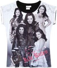 Disney Descendants T-Shirt schwarz in Größe 140 für Mädchen aus Vorderseite: 100% polyester Ärmel: 100% Baumwolle