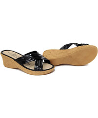 Summery Dámské pantofle 84_34_NERO