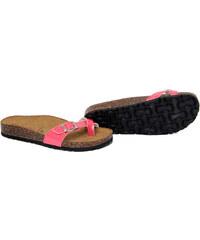 Summery Dámské pantofle 213_GLITTER_CORALLO