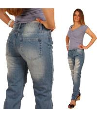 Lesara Regular Fit-Jeans mit Destroyed-Effekten - 34
