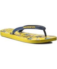 Žabky HAVAIANAS - Minons 41331675372 Yellow/Navy