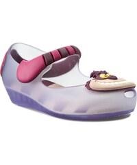 Ballerinas MELISSA - Mini Melissa Ultragirl+Alice 31874 Clear/Purple 51332