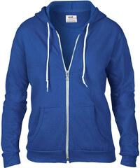 Dámská mikina Fashion s kapucí - Královsky modrá S