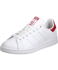adidas Stan Smith Schuhe ftwr white/collegiate red