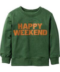 bpc bonprix collection Sweatshirt, Gr. 80/86-128/134 langarm in grün für Jungen von bonprix