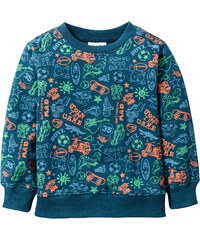 bpc bonprix collection Sweatshirt, Gr. 80/86-128/134 langarm in petrol für Jungen von bonprix