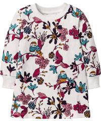 bpc bonprix collection Robe sweat-shirt, T. 80-134 blanc manches longues enfant - bonprix