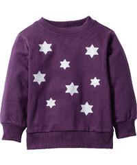 bpc bonprix collection Sweat-shirt à imprimé brillant, T. 80/86-128/134 violet manches longues enfant - bonprix