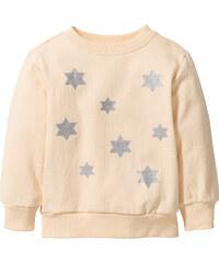 bpc bonprix collection Sweat-shirt à imprimé brillant, T. 80/86-128/134 orange manches longues enfant - bonprix
