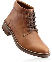 John Baner JEANSWEAR Bottines cuir marron chaussures & accessoires - bonprix