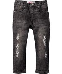 John Baner JEANSWEAR Jeans mit Destroy Look, Gr. 80-134 in grau für Jungen von bonprix