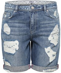 ONLY Destroyed Bermuda Jeansshorts