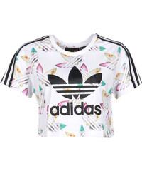 adidas Surf Crop W T-Shirt white/multicolor