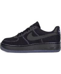 Sneakers - tenisky Nike Air Force 1 Low Upstep BR BLACK/BLACK-COOL GREY