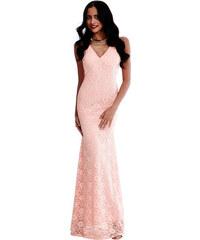 Goddess Světle růžové šaty Ariel