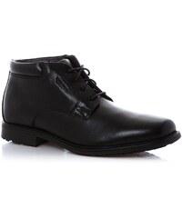 Rockport ESNTIAL DTL WPCHUKK - Boots en cuir avec semelle adiprène - noir