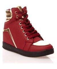 Wilady Plateau-Sneakers - bordeauxrot