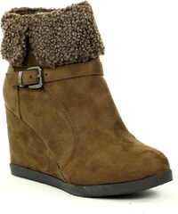 R and Be Bottines - marron